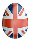 UK flag Easter egg Stock Photo
