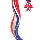 A Uk flag Royalty Free Stock Image