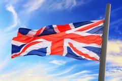 UK flaga Obraz Royalty Free