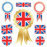 Uk flags Stock Images