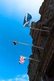 UK flags Royalty Free Stock Photos