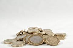 UK Funtowe Monety Fotografia Stock