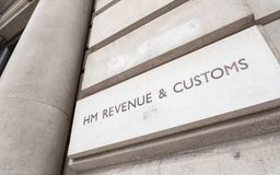 UK Government: HM Revenue and Customs Royalty Free Stock Photos