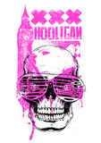 UK Hooligan. Vector illustration ideal for printing on apparel clothes Royalty Free Stock Photography