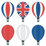 Uk hot air balloons Royalty Free Stock Photo