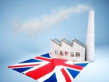UK industry development Stock Photos