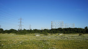 UK, Infrastructure, Electricity and Gas Royalty Free Stock Photography