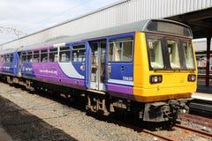 UK-järnväg Royaltyfria Foton