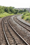 UK-järnväg/järnväg Royaltyfria Bilder