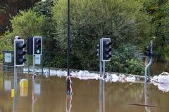 UK Jork Powodzie - Sept.2012 - Zdjęcie Royalty Free