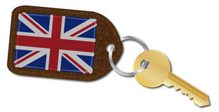 UK Key and Fob Royalty Free Stock Photography