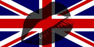 UK Kiss Stock Photo