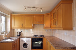 UK Kitchen Units Royalty Free Stock Image