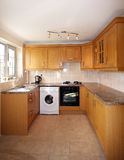 UK Kitchen Units Stock Images