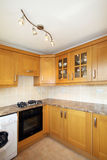 UK Kitchen Units Royalty Free Stock Photography