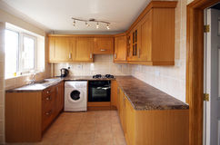 UK Kitchen Units Royalty Free Stock Image