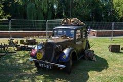 UK-krigsmakt tillbringar veckoslutet berömmar Trowbridge 2018 Wiltshire arkivbilder