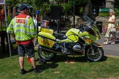 UK-krigsmakt tillbringar veckoslutet berömmar Trowbridge 2018 Wiltshire royaltyfria bilder
