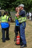 UK-krigsmakt tillbringar veckoslutet berömmar Trowbridge 2018 Wiltshire arkivfoto