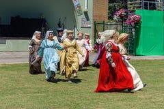 UK-krigsmakt tillbringar veckoslutet berömmar Trowbridge 2018 Wiltshire royaltyfri bild