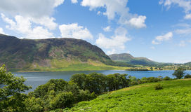 UK Lake District Crummock Water Cumbria North West England UK between Buttermere and Loweswater Royalty Free Stock Photography