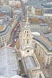 uk London powietrzny widok Obraz Royalty Free