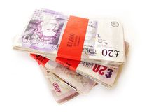 UK money Stock Photography