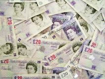 UK money Royalty Free Stock Photos