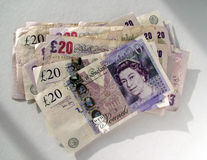 UK money Stock Photo