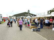UK Motorhome and Caravan show. Royalty Free Stock Images