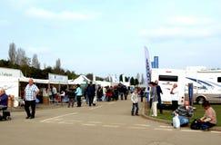 UK Motorhome and caravan show. Royalty Free Stock Images