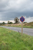 UK Motorway Services Road Sign Royalty Free Stock Photos
