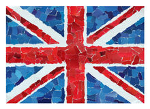 UK National Flag Royalty Free Stock Photo