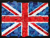 UK National Flag Royalty Free Stock Photography