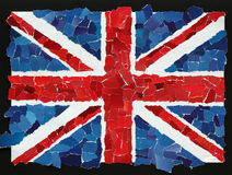 UK-nationsflagga Royaltyfria Bilder