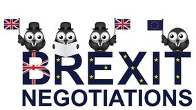UK Negotiations Stock Photo