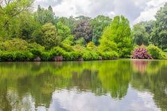 UK, Norfolk, Sandringham, 2016, June, 15: The gardens of the Que Royalty Free Stock Photos