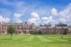 UK, Norfolk, Sandringham, 2016, June, 15: The Queen`s residence, royalty free stock images