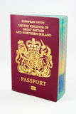 UK Passport Royalty Free Stock Photography