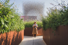 UK pavilion at Expo 2015 in Milan, Italy Stock Photography