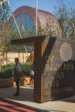 UK pavilion at Expo 2015 in Milan, Italy Stock Images