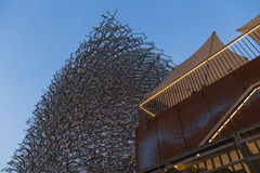 UK pavilion at Expo 2015 in Milan, Italy Royalty Free Stock Images
