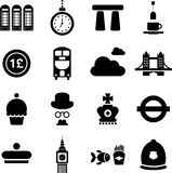 UK pictograms Stock Photos