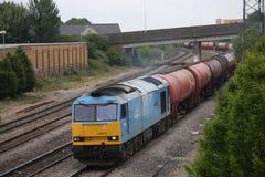 UK Pociąg Towarowy Obraz Royalty Free