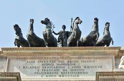 Łuk pokój statua Obrazy Royalty Free