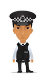 UK police officer Stock Image