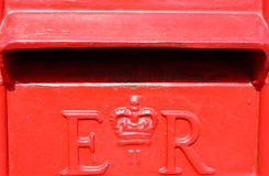 UK Post Box Royalty Free Stock Images