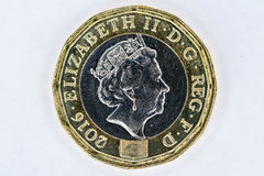 UK pound coin Stock Images