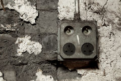 UK Power Outlet Stock Photography