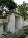 Łuk przy Watem Samuha Pradittharam, Saraburi prowincja Obraz Stock
